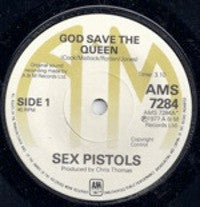 Sold with a bang: the rare 1977 Sex Pistols record