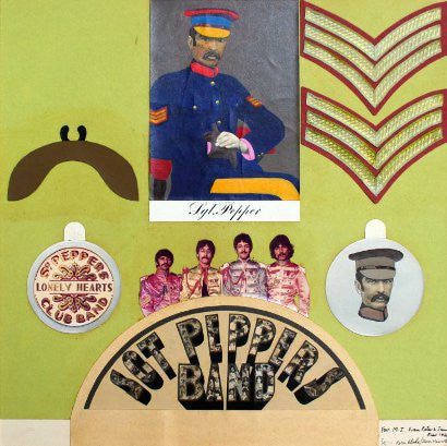 Sgt Pepper collage by Peter Blake