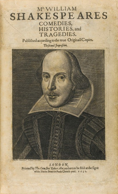 Shakespeare second folio