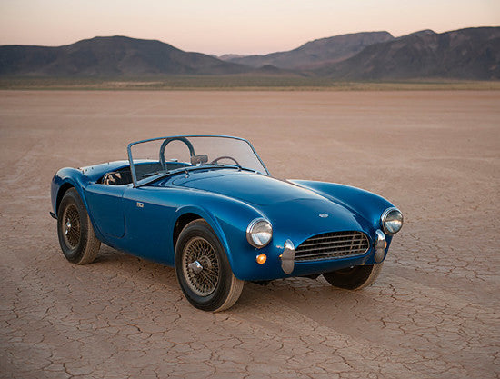 Shelby Cobra first