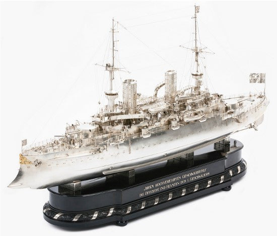 silver battleship german