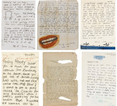 Sotheby's Lucian Freud letters