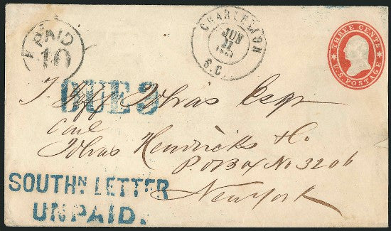 Southern Letter Unpaid