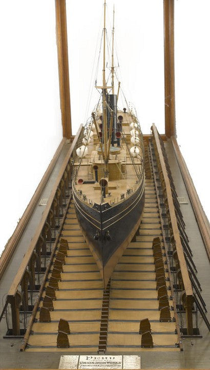 SS Peru builders' model to auction in New York for $80,000?