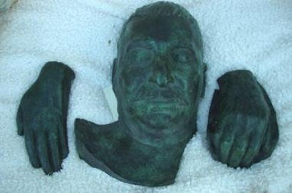 Stalin death mask