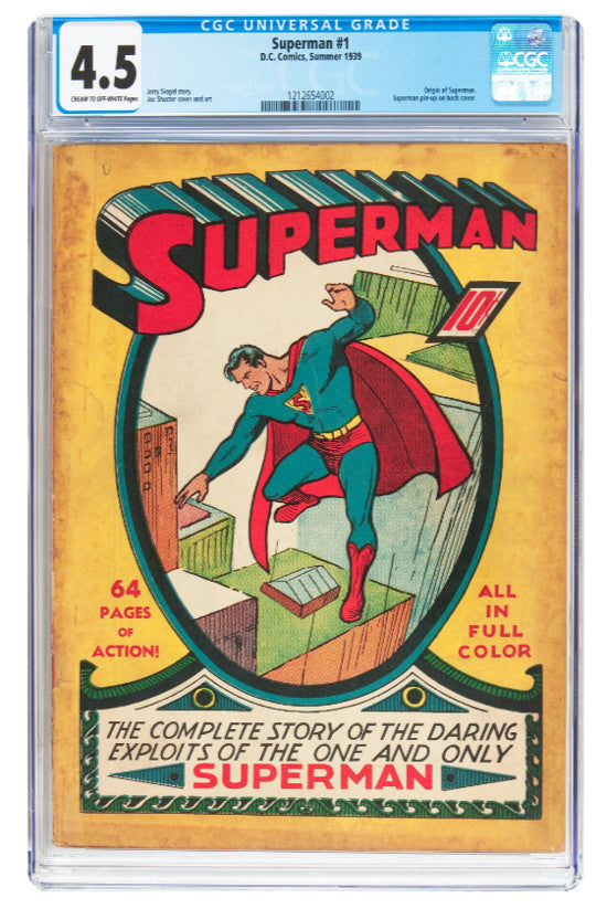 Superman Heritage Auctions