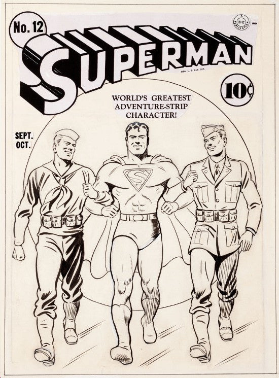 Superman Heritage cover