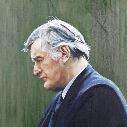 Ted Hughes portrait sale