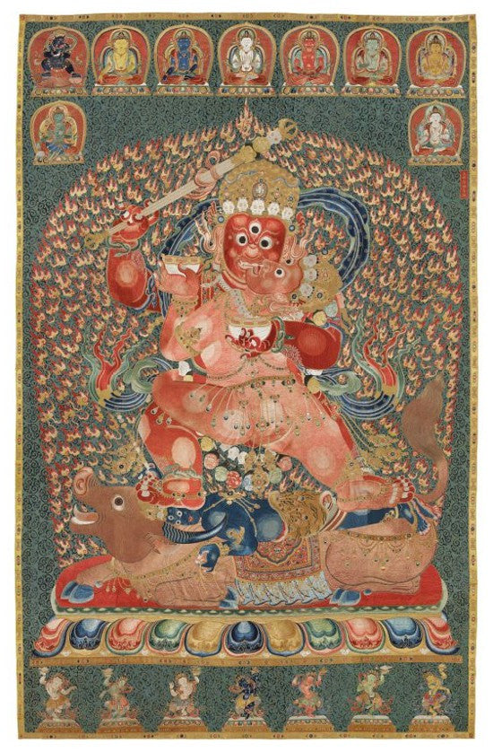 Thangka record Christies