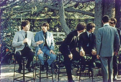 Rare Beatles colour photos to auction in March
