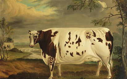 The Craven Heifer painting to achieve $8,100 at auction?