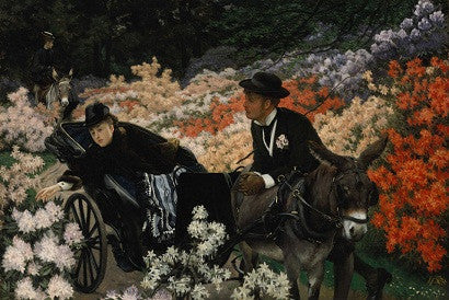 The Morning Ride by James-Jacques-Joseph Tissot