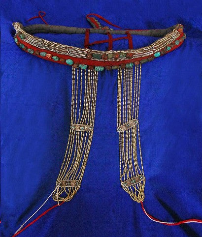 Tibet headdress auction