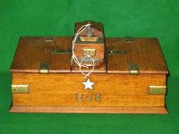 Captain Smith's cigar box from RMS Titanic