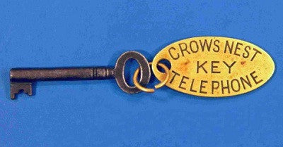 The set of Titanic Crow's Nest keys