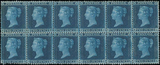 two pence blue Spink