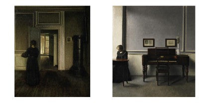 Hammershoi paintings auction