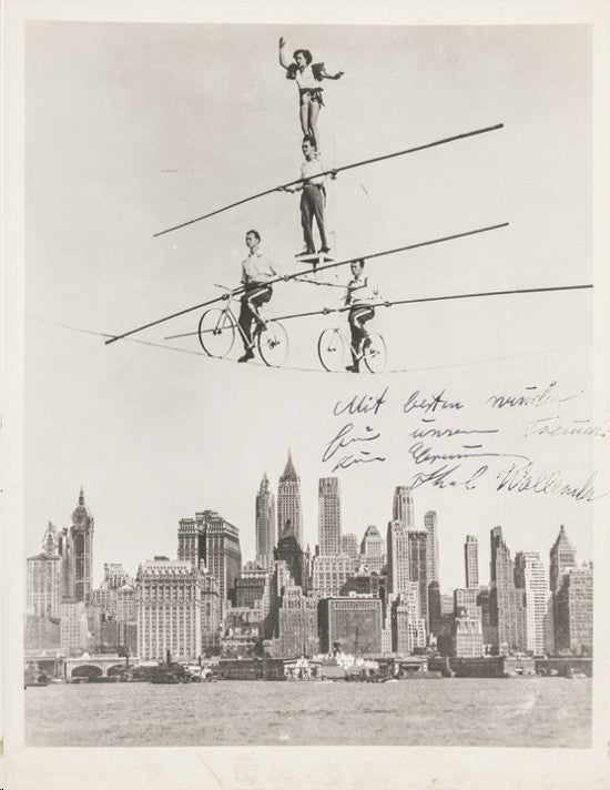 Wallenda Flying signed