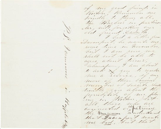 Wilkes Booth letter
