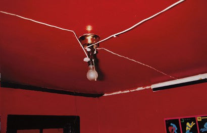 William Egglestone Red Ceiling