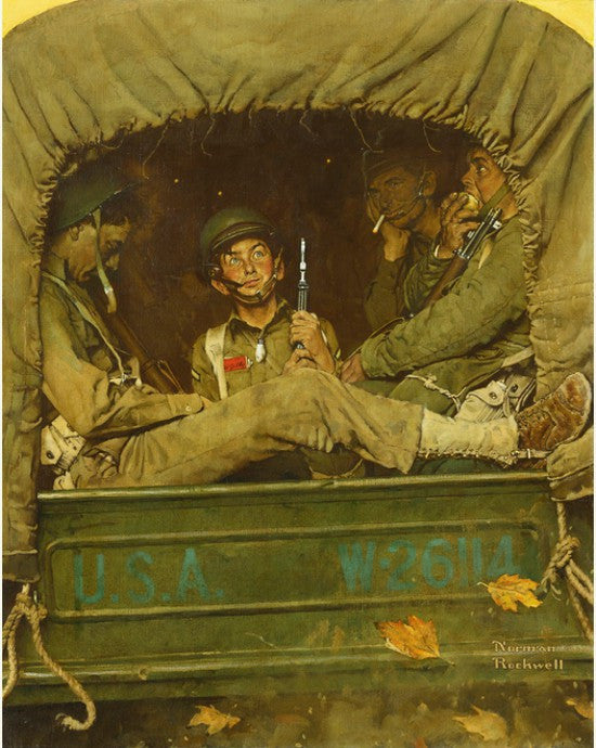 Willie Gillis Norman Rockwell