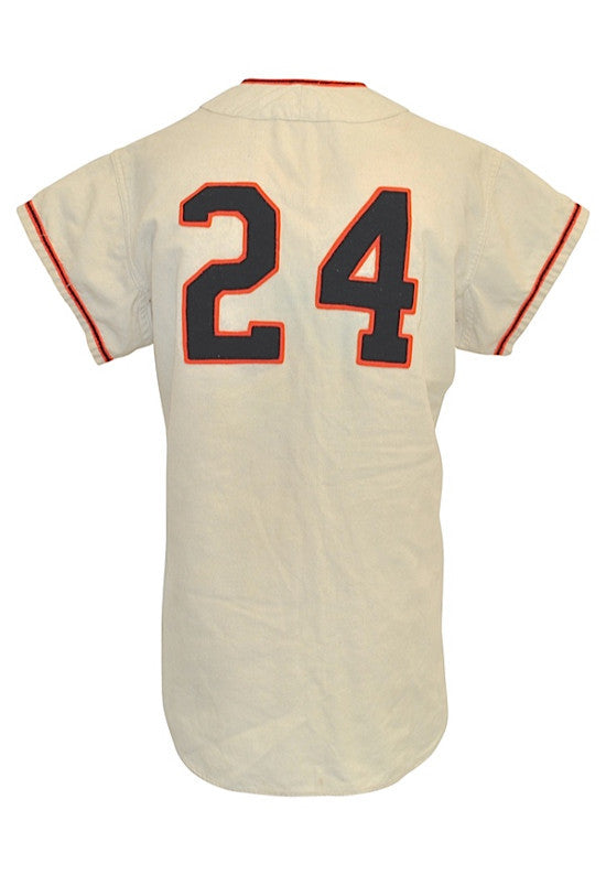 Willie Mays jersey