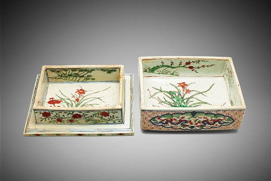 Wucai box Bonhams
