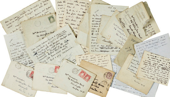 Yeats letters Sothebys