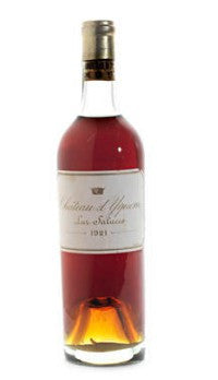 Chateau d'Yquem 1921 sold for £4,600