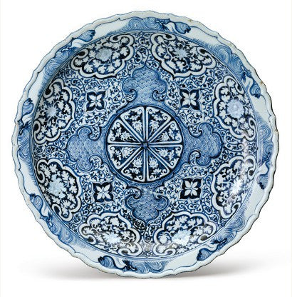 Yuan dynasty dish China