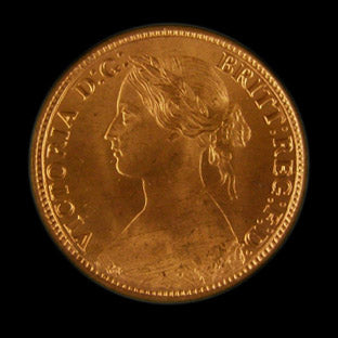 Farthing Victoria 1862