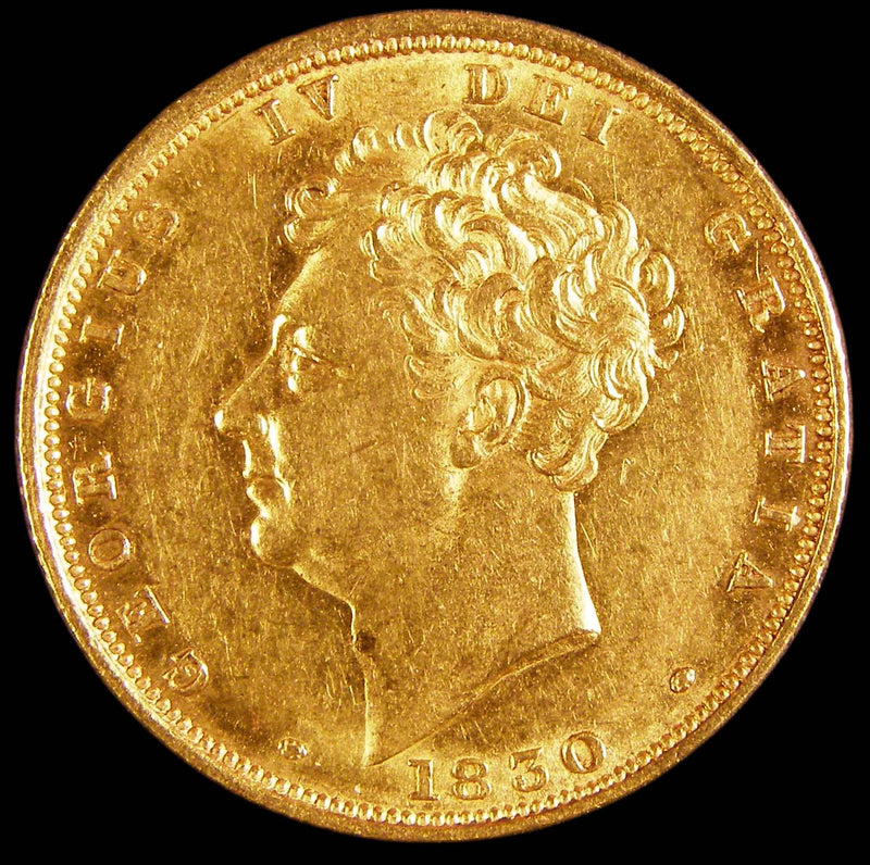 Gold Sovereign George IV 1830