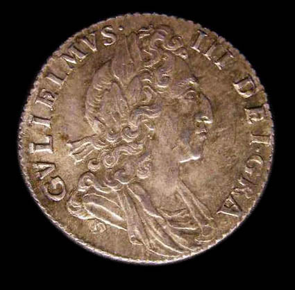 Sixpence William III 1700