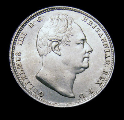 Sixpence William IV 1831