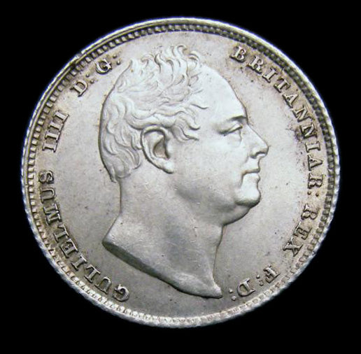 Sixpence William IV 1834