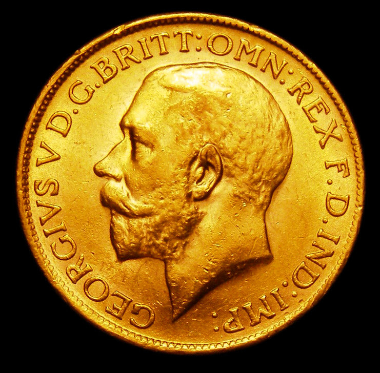 Gold Sovereign George V 1928