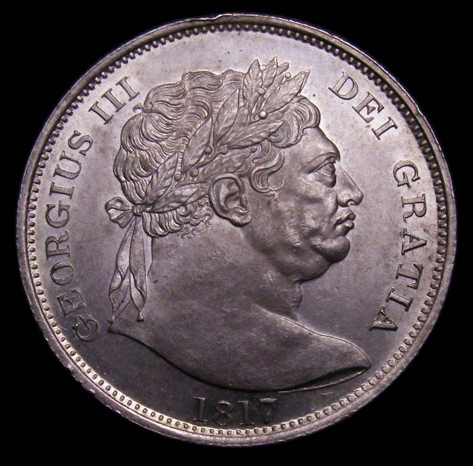 Halfcrown George III 1817