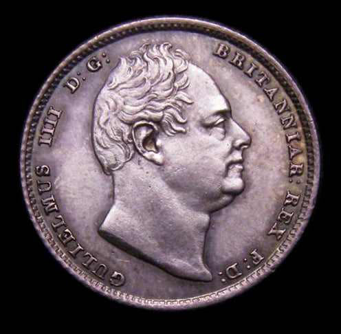 Sixpence William IV 1835