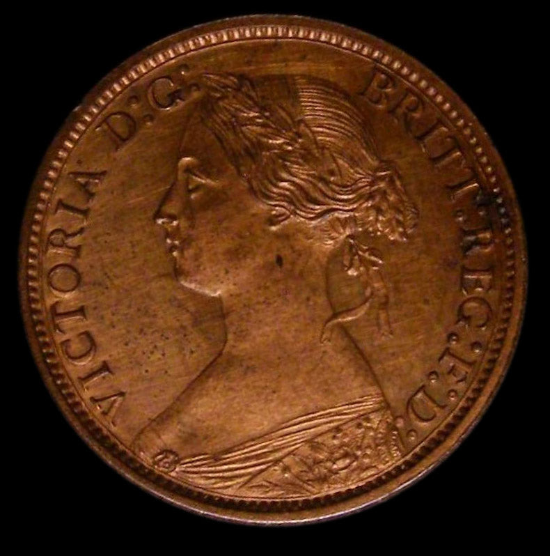 Farthing Victoria 1868