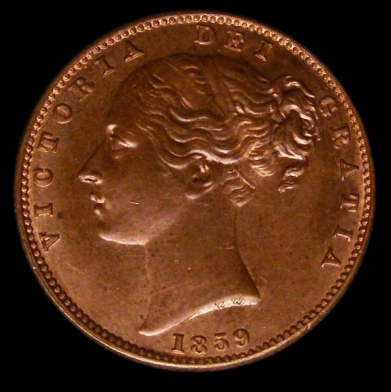 Farthing Victoria 1859