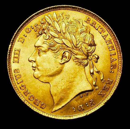 Gold Sovereign George IV 1822