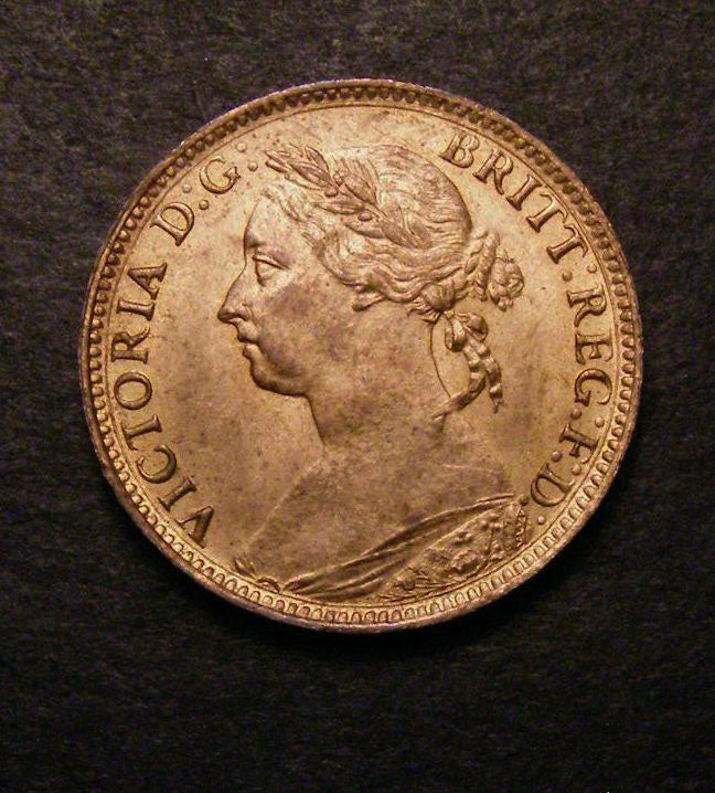 Farthing Victoria 1883
