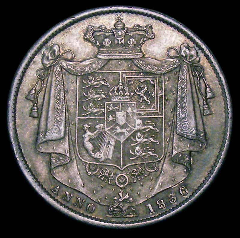 Halfcrown William IV 1836