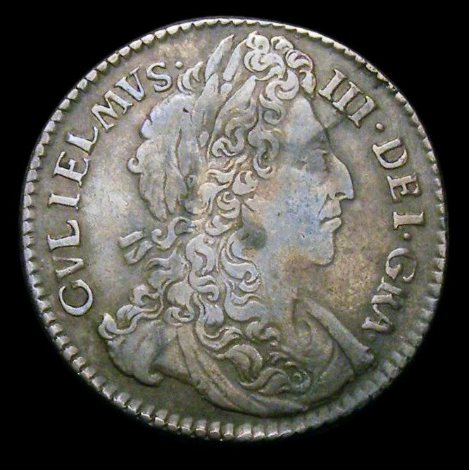 Sixpence William III 1696