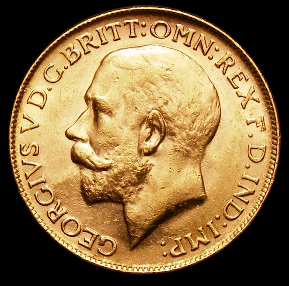 Gold Sovereign George V 1926