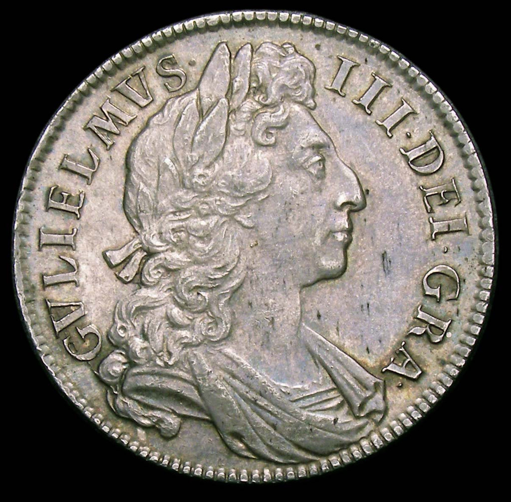 Halfcrown William III 1701