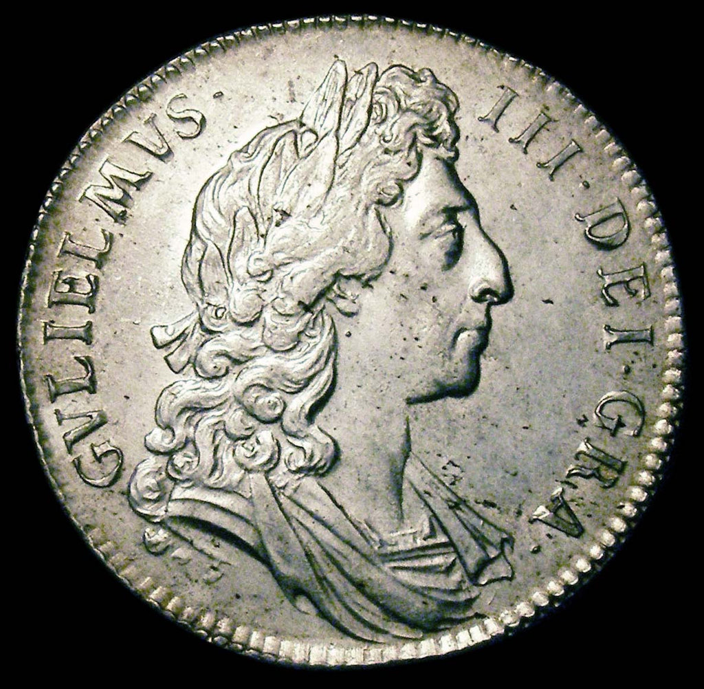 Halfcrown William III 1696