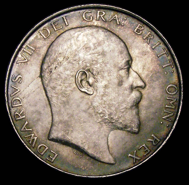Halfcrown Edward VII 1906