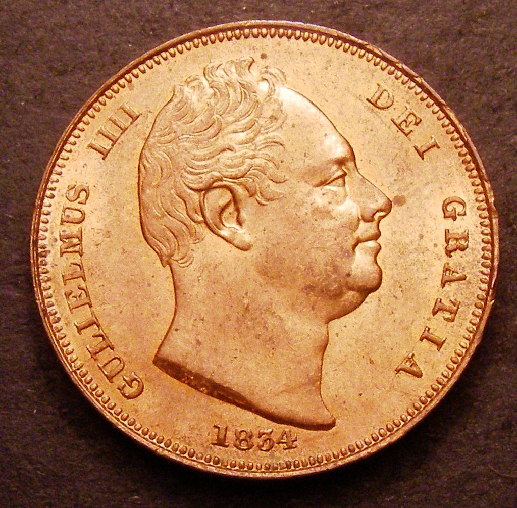 Farthing William IV 1834