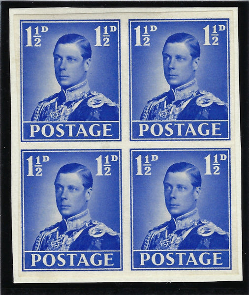 Great Britain King Edward VIII 1936 (Sept) 1½d Coronation Essays